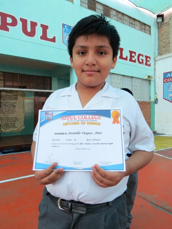 Ganadores Del Concurso Interno De Ingl S